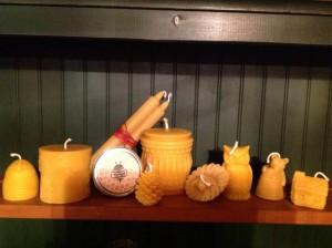 beeswax candles springfield-vt-farmers-market